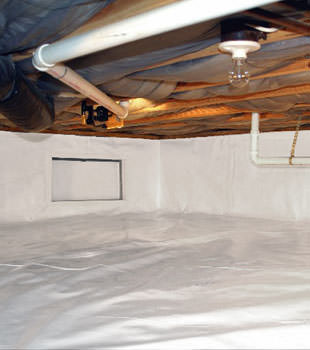 crawl space repair system in Smithville