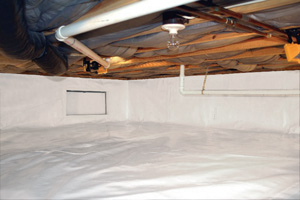 Crawl Space Repair After in Tullahoma